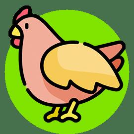 chicken names icon
