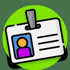 name generator badge icon